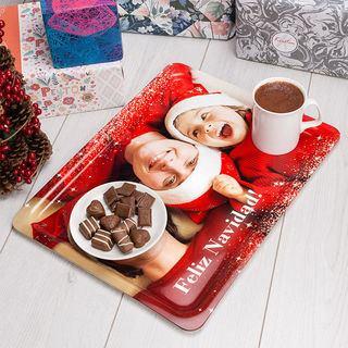 bandejas personalizadas para navidad