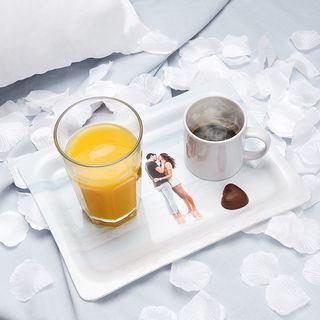 bandeja para desayuno personalizada