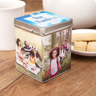 Personalised Family Tea Caddy