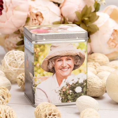 Boîte à thé personnalisée grand-mère