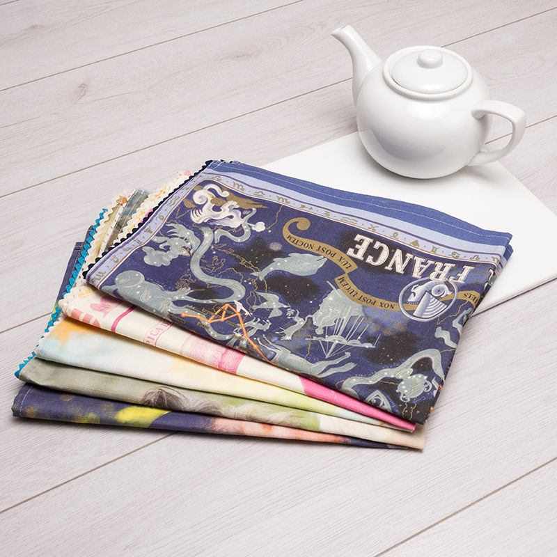Tea Towels Printed For Schools: Personalised Tea Towel Printing. Print Your Own Photo Tea