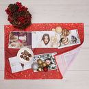 Christmas Family photo montage Tea towel
