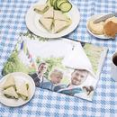 Personalised Printed Family photo tea towel