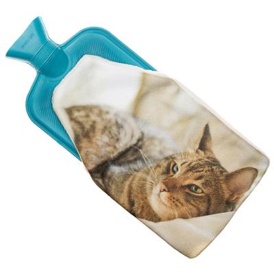 wärmflasche mit foto