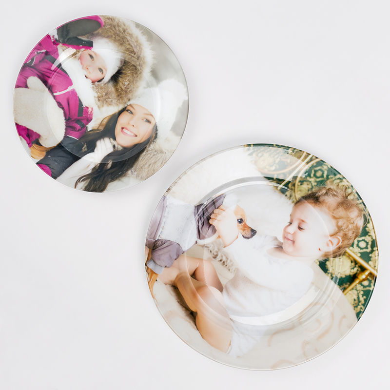 personalized photo plate ...  sc 1 st  Bags of Love & Personalized Photo Plates Printing | Personalized Photo Ceramic ...