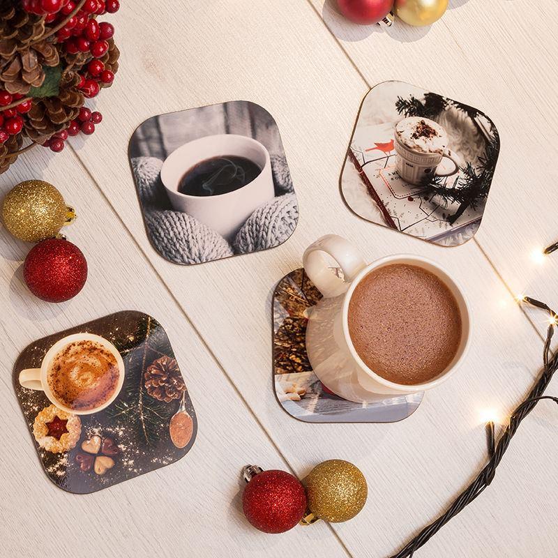 foto untersetzer selbst gestalten untersetzer mit foto bedrucken. Black Bedroom Furniture Sets. Home Design Ideas