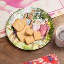 Photo sur assiette céramique biscuits