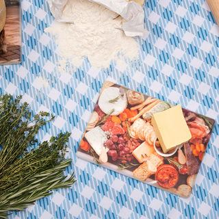 Kitchen chopping board photo print