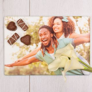 Photo Chopping board print in the UK