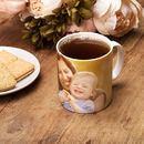 Personalised china mugs dog photo