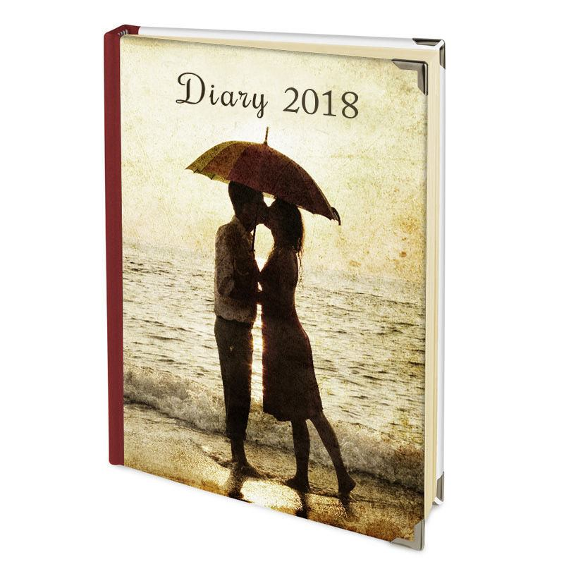 Personalised Diary Design Your Own 2018 Photo Diaries