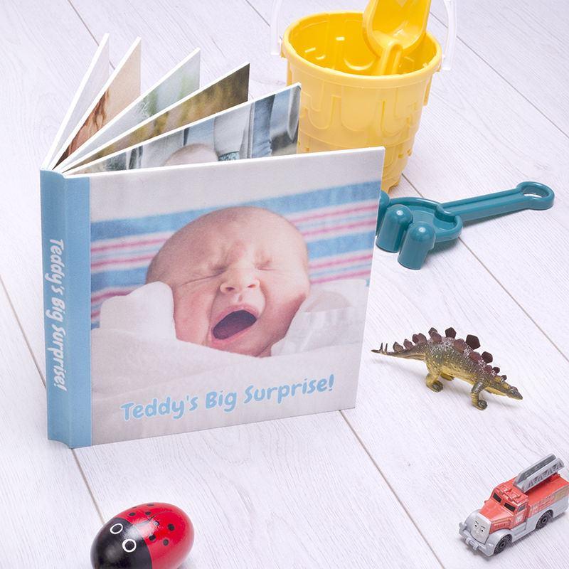 couverture livre bébé personnalisé