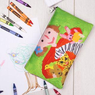 Trousse à crayons imprimée avec dessin