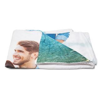 Double sided printed bathroom towel