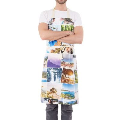 personalized collage apron