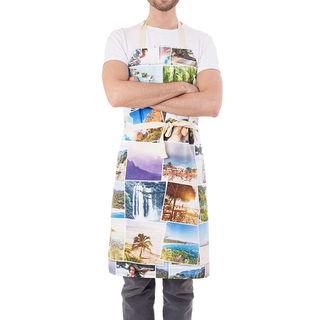 Tablier de cuisine avec montage photos
