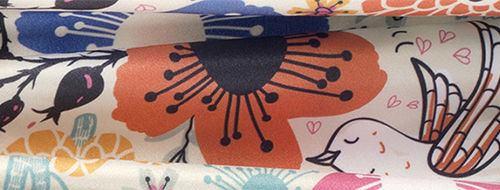 Lycra soft sheen fabric