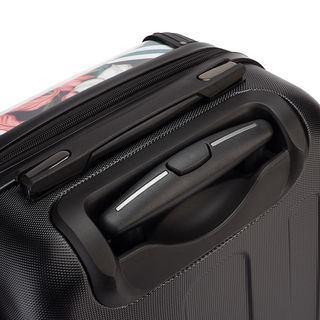 resväska med tryck handtag