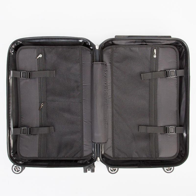 Innenleben Koffer bedrucken