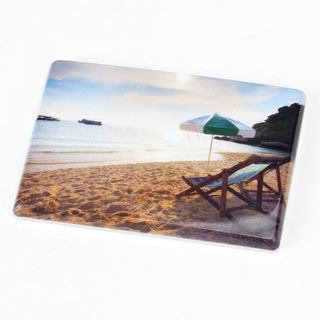Magnets photo personnalisables vacances