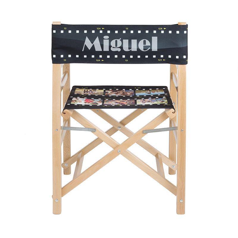 Silla de director de cine personalizada dise a tu silla for Silla de director