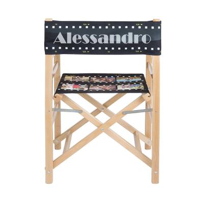 sedia regista personalizzata con nome