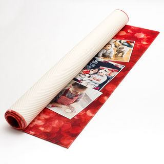 photo collage printed rugs