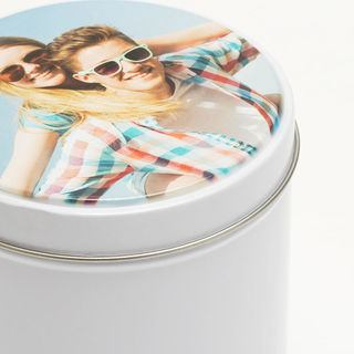 Personalise your own photo tin UK
