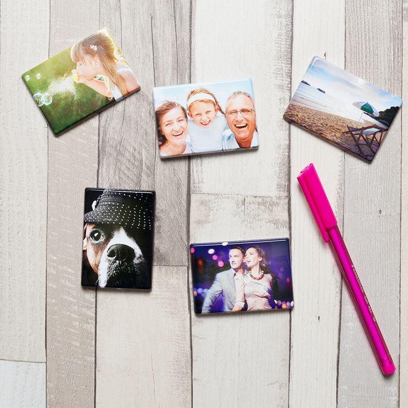 Photo fridge magnet pack of 5