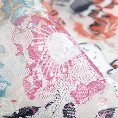 Flora Lace Printing