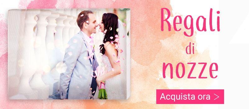 Regali di matrimonio personalizzati