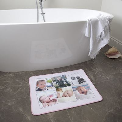Tapis de bain personnalisé