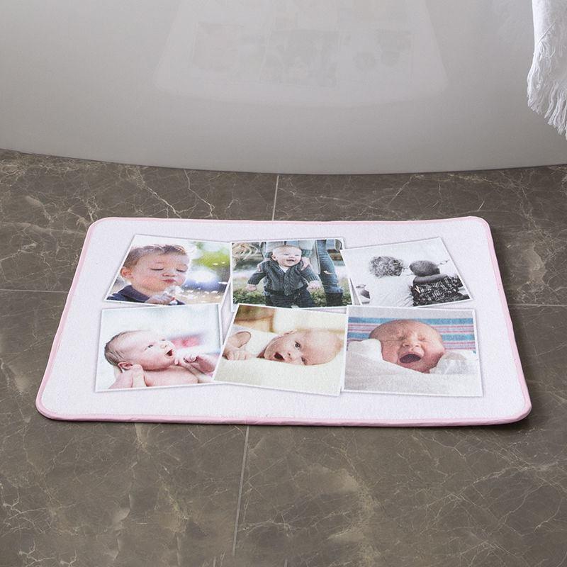 Custom Bath Mat Printing Design Your Own Photo Bath Mat