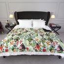 Plaid design sur lit