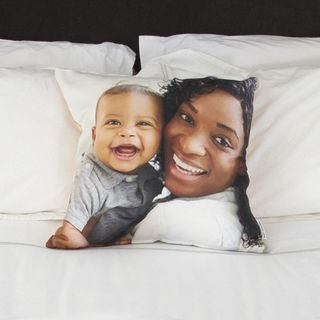 baby photo cushions for birthdays or christenings
