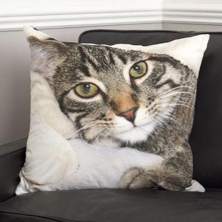 kissen mit foto von katze