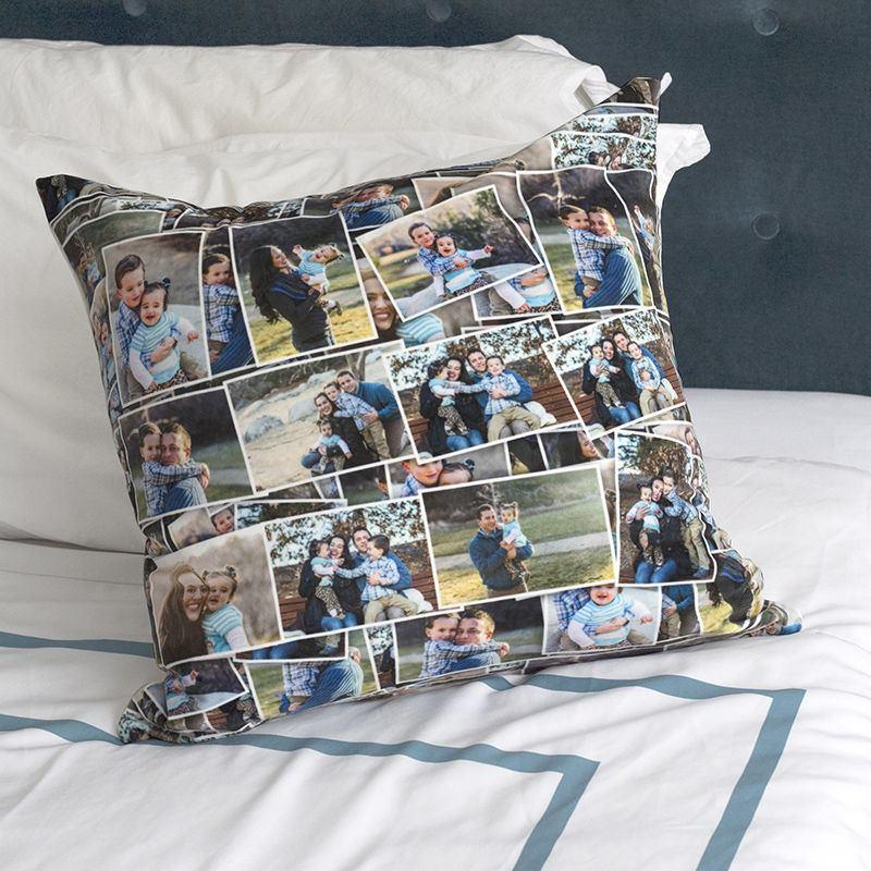 coussin personnalis 100 avec photos et texte id e. Black Bedroom Furniture Sets. Home Design Ideas