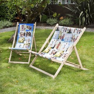 Deckchairs single and double personalised Deckchair