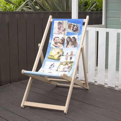 Collage Deck Chair