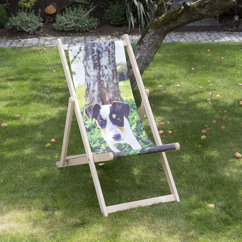 stampa sedia sdraio personalizzata con foto