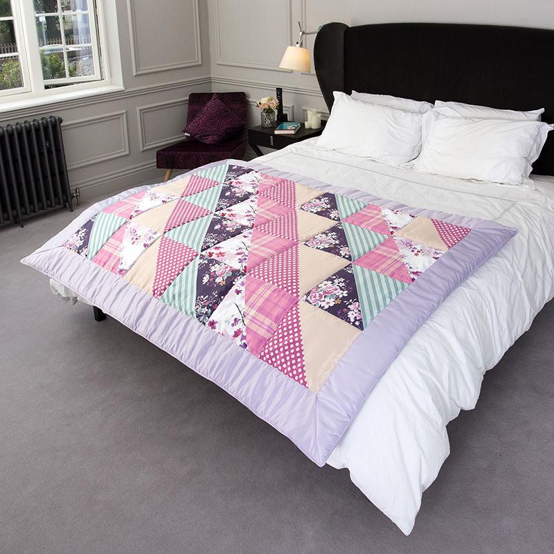 Quilt Decke Selbst Designen Decke Mit Mustern Bedrucken