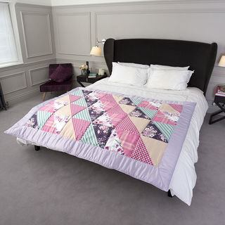 Photo Quilts on the Bed