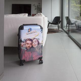valise personnalisée avec photo de couple