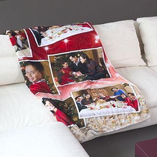 Personalised photo printed blanket
