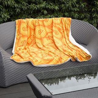 Outdoor blanket design fleece design