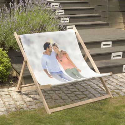 Printed Double Deckchair