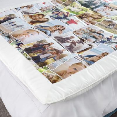 tryck personliga foton på eget lapptäcke