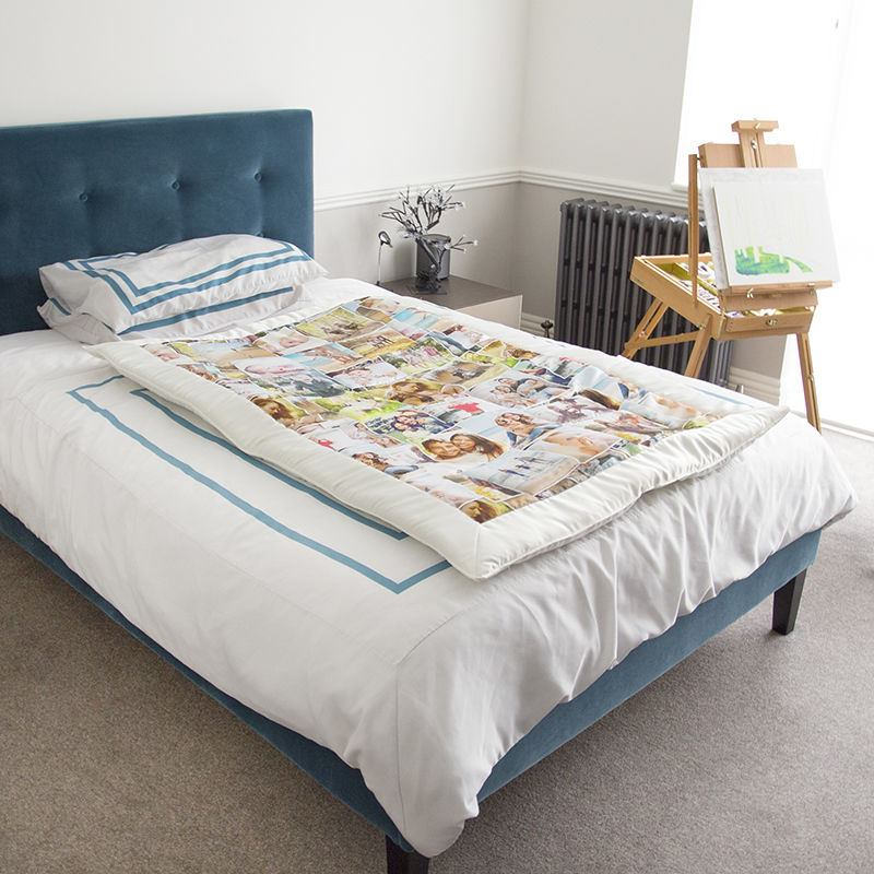Personalised Quilt design Photo montage