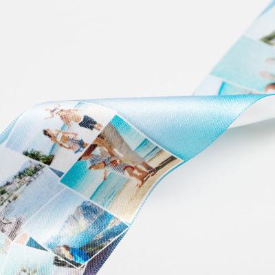 geschenkband aus satin mit fotos bedrucken lassen