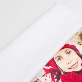 Foto Weihnachtsstrumpf Detailbild